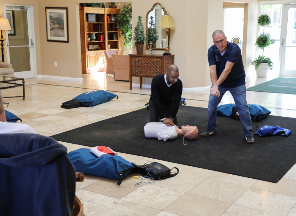 CPR Training 4