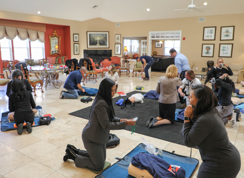 CPR Training 5