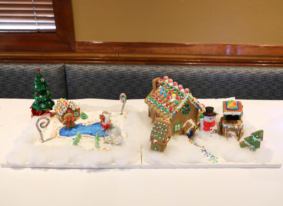 Cascades Overlook Ginger Bread House