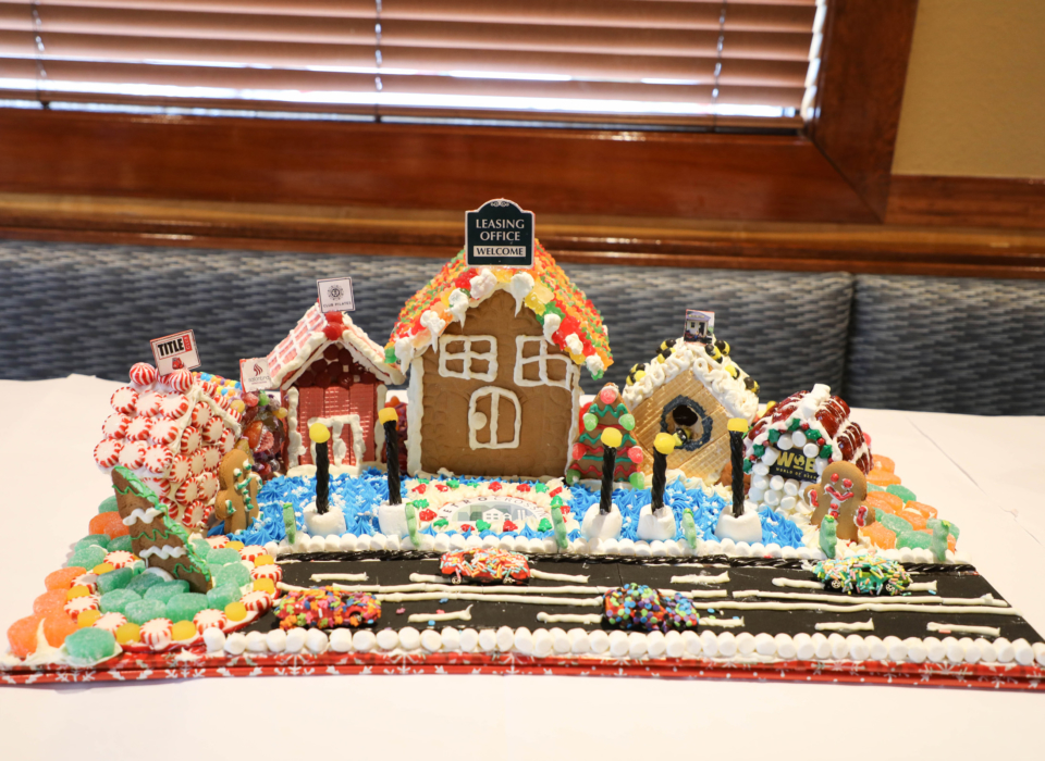 Metro Crossing Ginger Bread House