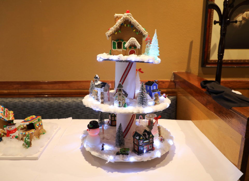 Symphony Center Ginger Bread House